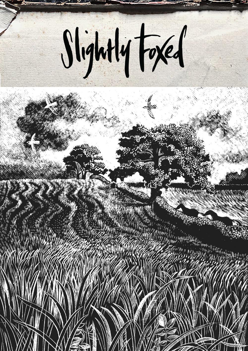 From the Slightly Foxed bookshelves || John Moore, Brensham Village || Easter reading