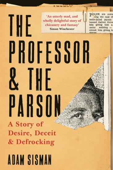 Adam Sisman, The Professor & The Parson - Slightly Foxed shop
