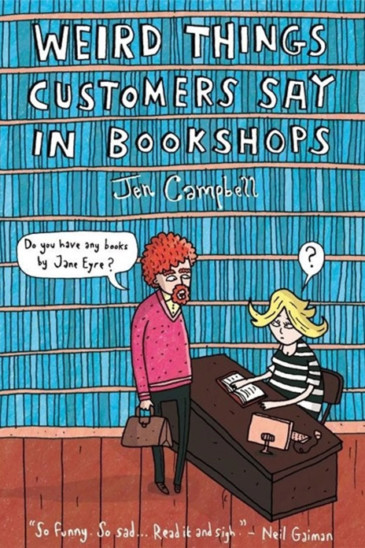 Jen Campbell, Weird Things People Say in Bookshops - Recommended in Foxed Pod, Episode