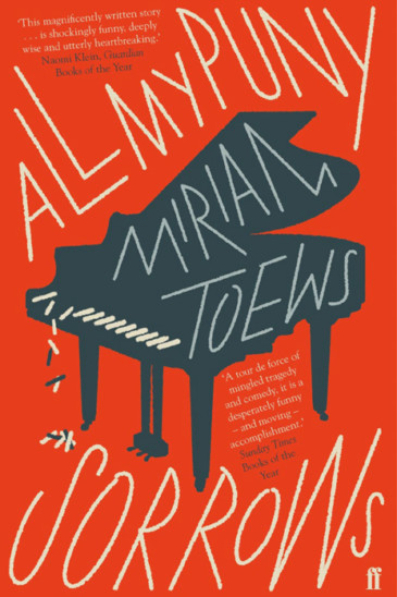Miriam Toews, All My Puny Sorrows - Featured in Foxed Pod, Episode 7