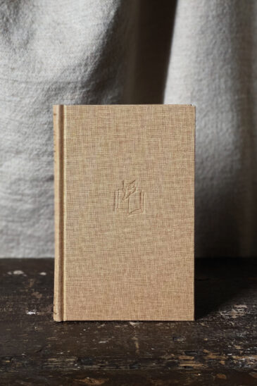 Slightly Foxed Notebook Fawn Small