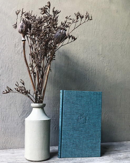 Small Duck-egg Blue Notebook