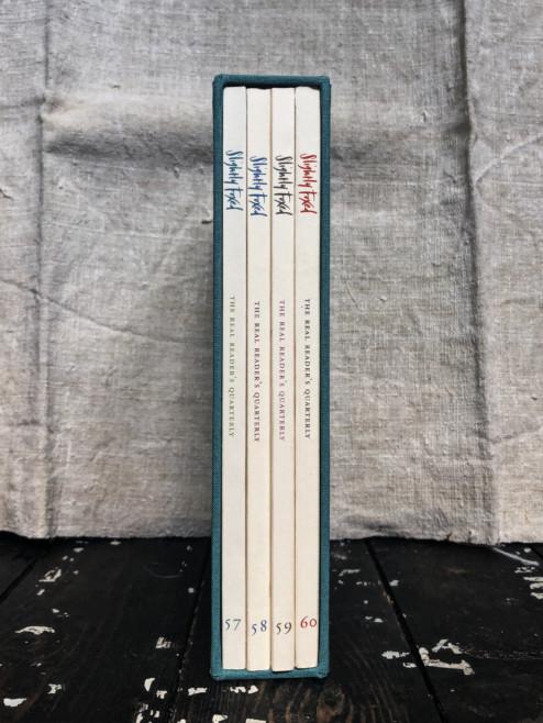 Blue Slipcase for Slightly Foxed