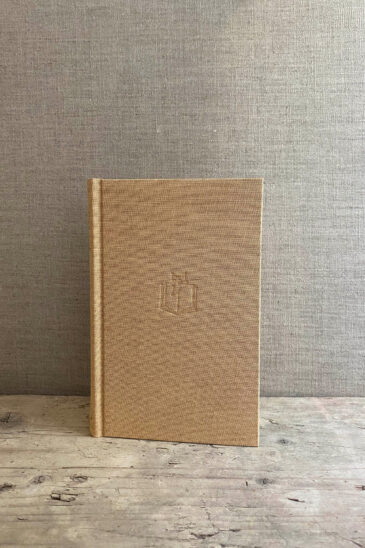 Slightly Foxed Small Fawn Notebook