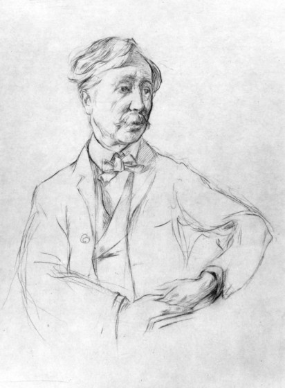 George Moore by Henry Tonks, 1901 - Jeremy Lewis on Esther Waters