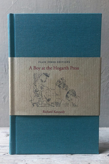 Richard Kennedy, A Boy at the Hogarth Press,-Plain-Foxed-Edition