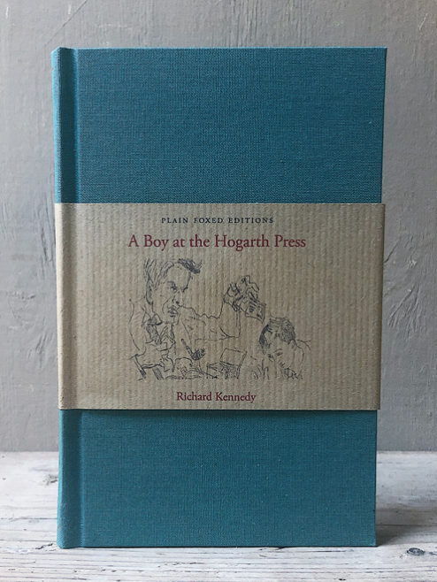 A Boy at the Hogarth Press & A Parcel of Time (Plain Foxed Edition)