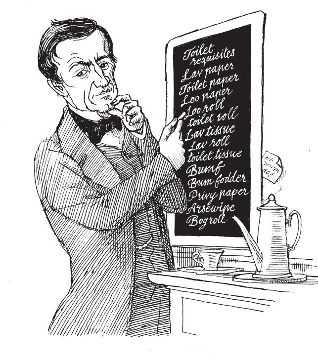 Daniel Macklin. Oliver Pritchett on Roget's Thesaurus