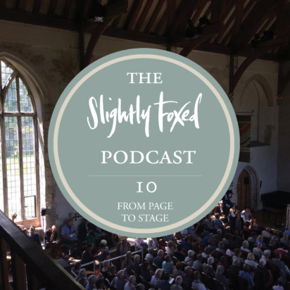 Foxed Podcast Episode 10 Literary Festivals