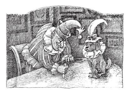 Daniel Macklin illustration - C. J. Driver on Punch