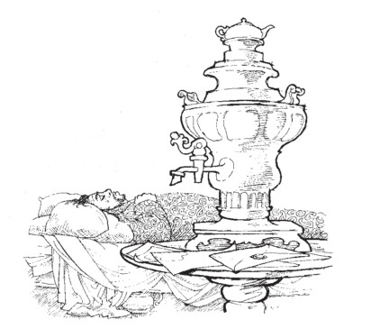 David Eccles Illustration - Tim Blanchard on Oblomov