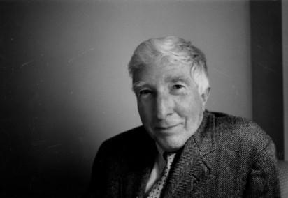 John Updike photograph (B&W) - Justin Cartwight on the Rabbit novels