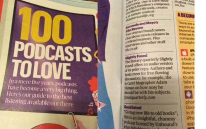 Sunday Times Top Podcasts to Love