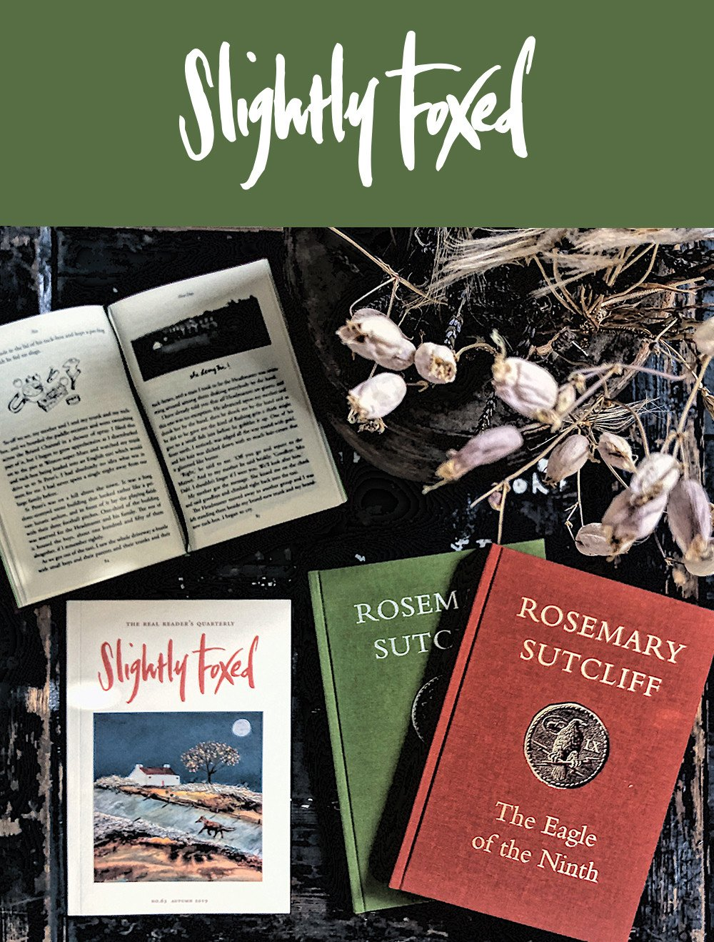 New this Autumn from Slightly Foxed