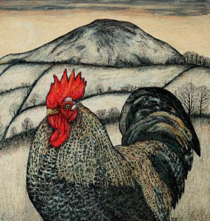 Slightly Foxed Issue 64 Seren Bell Winter Cockerel