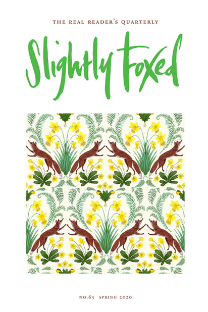 'Spring Foxes', Kelly Louise Judd - Slightly Foxed Issue 65