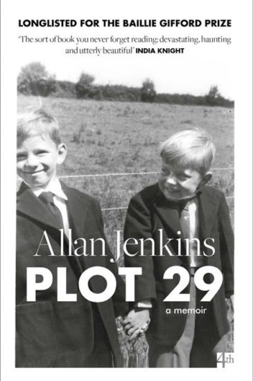 Allan Jenkins, Plot 29 - Slightly Foxed