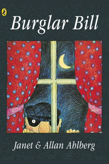 Janet & Allan Ahlberg, Burglar Bill - Slightly Foxed shop