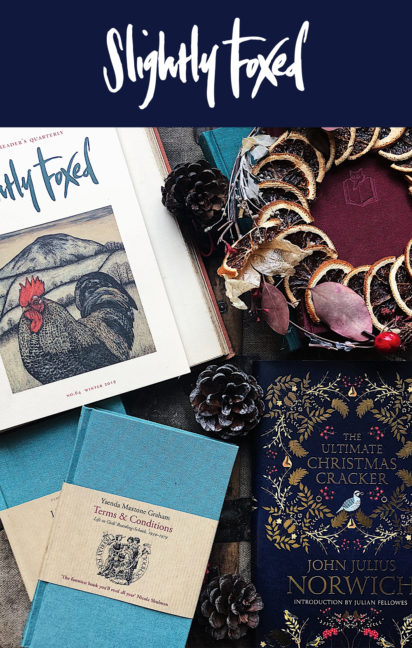 Winter Reading | Slightly Foxed Readers' Catalogue