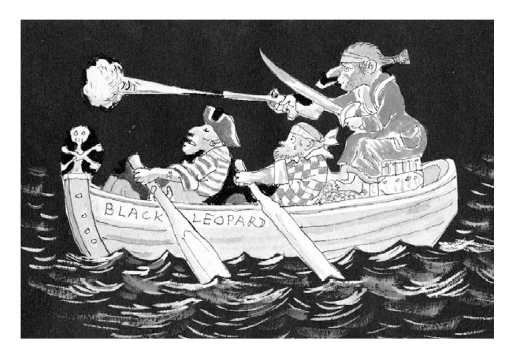 Boat - Sebastian Peake on Mervyn Peake, Mr Pye - Slightly Foxed Issue 12