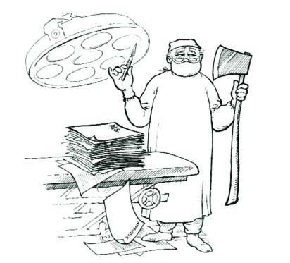 David Eccles, Broadaxe or scalpel? - Charles Elliott on Editing