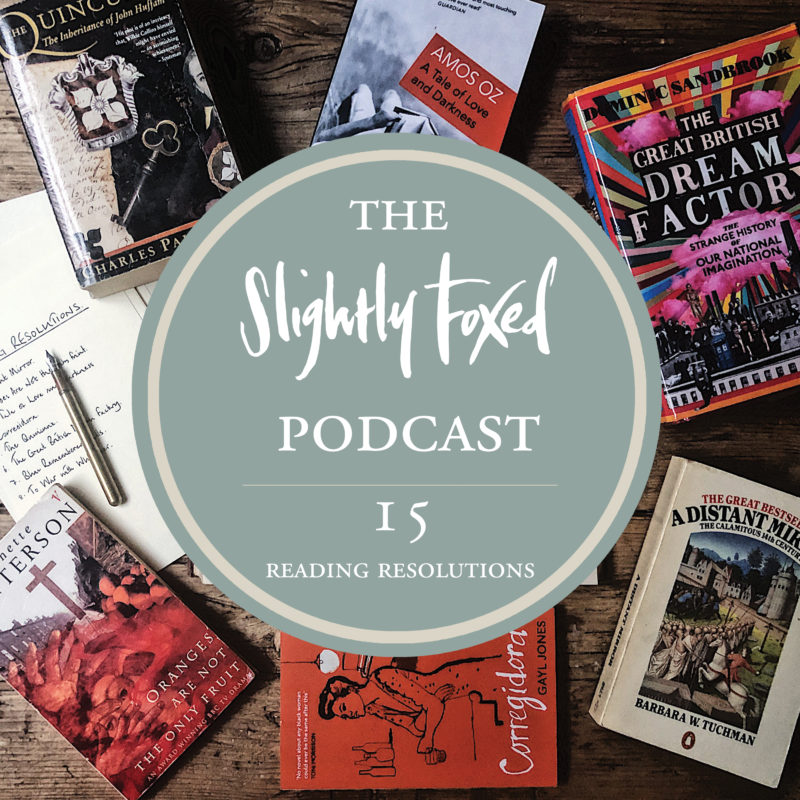 Foxed Pod Episode 15 | Reading Resolutions