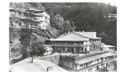 Photograph of Central Hotel Simla - Annabel Walker on Paul Scott