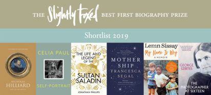 Slightly Foxed Best First Biography Prize 2019 Shortlist