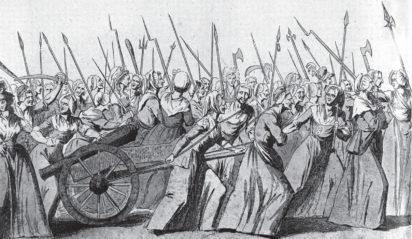 March of market women on Versailles - Roger Hudson on the memoirs of the Comtesse de Boigne