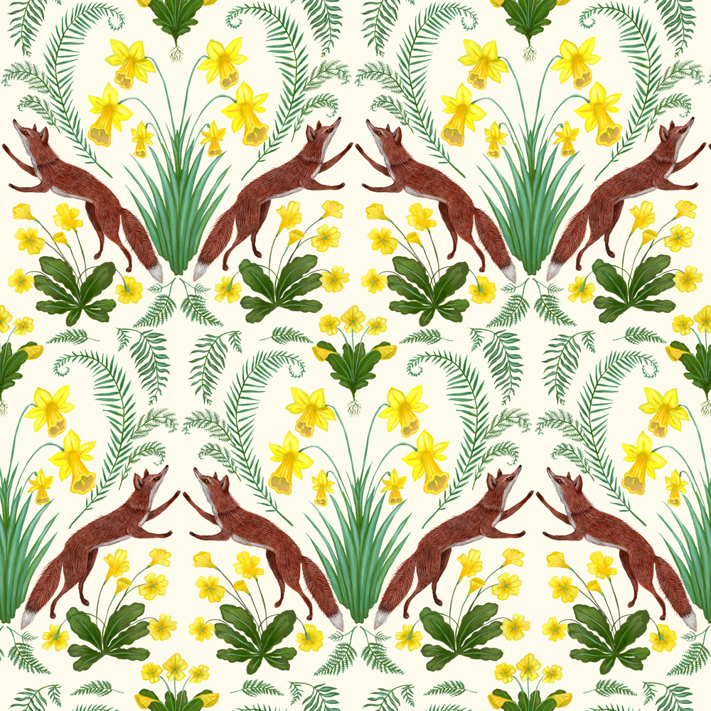 Kelly Louise Judd, 'Spring Foxes' - Slightly Foxed Issue 65