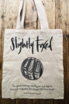 The Slightly Foxed Cotton Tote Bag