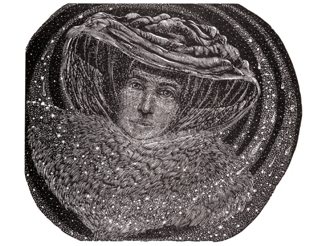 Judith Jaidinger, The Three Mothers - Simon Brett on illustration, Slightly Foxed Issue 4