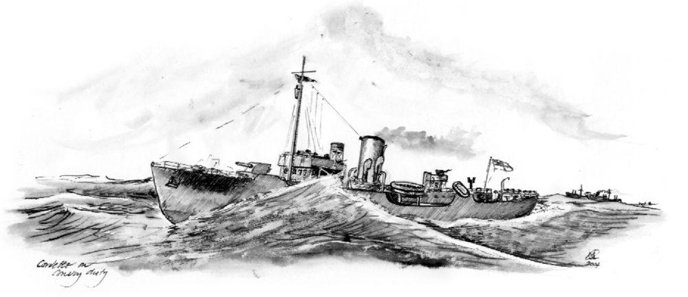 Richard Woodman on Nicholas Monsarrat, The Cruel Sea - Slightly Foxed Issue 4