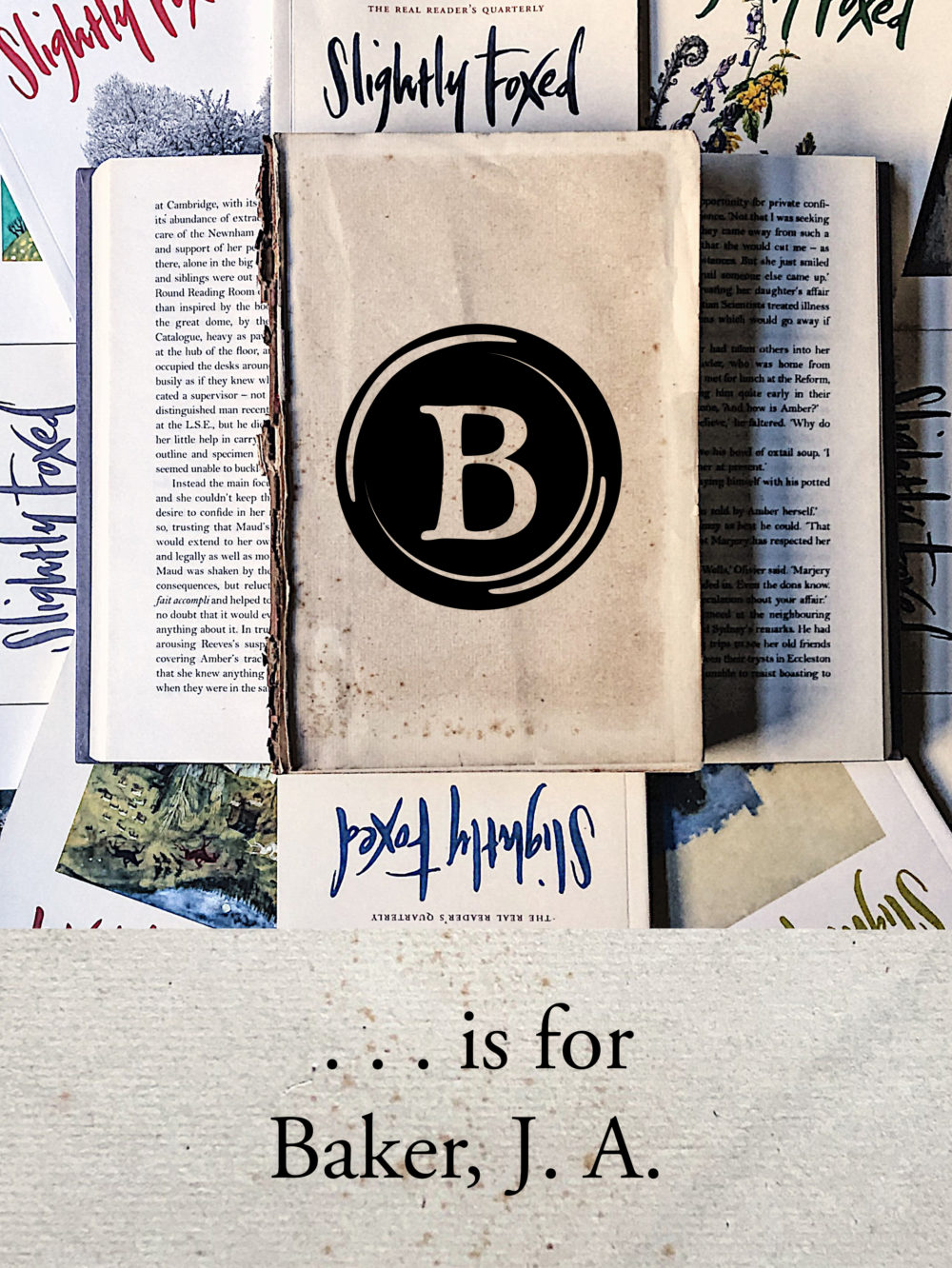 B is for Baker, J. A. | From the Slightly Foxed archives