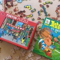 Tintin & Asterix | Slightly Foxed Editors' Diary