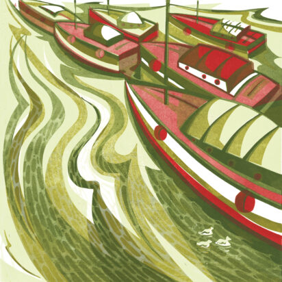 Slightly Foxed Issue 66, Paul Cleden, 'Boats and Coots'