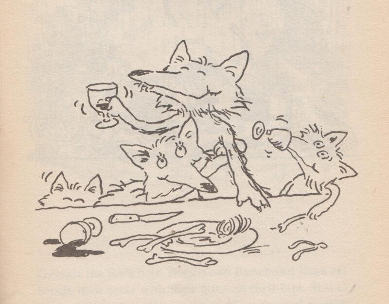 Tony Ross, Foxes | Slightly Foxed Editors' Diary