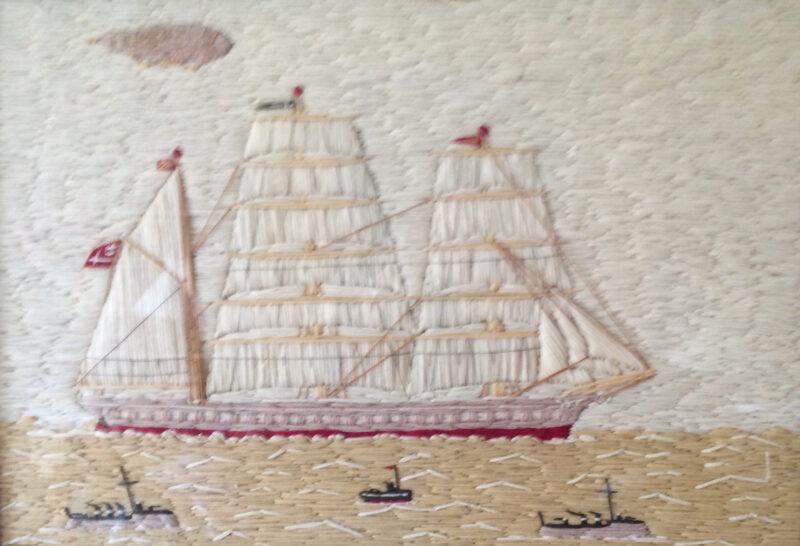 Sailing ship | Slightly Foxed Editors' Diary