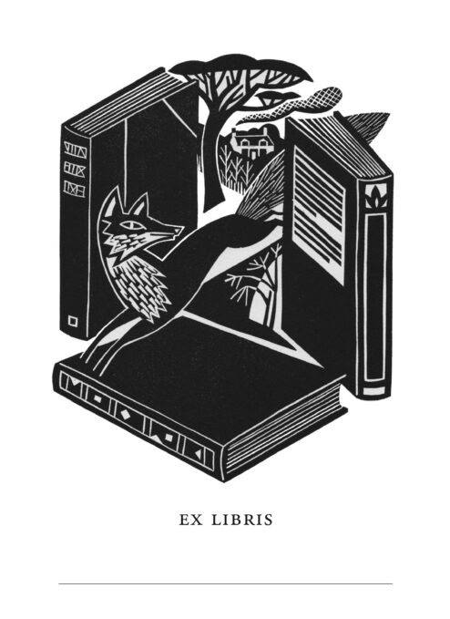 The Slightly Foxed Bookplate (Set of 100)
