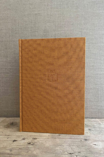 Slightly Foxed Large Gold Notebook - Autumn 2020