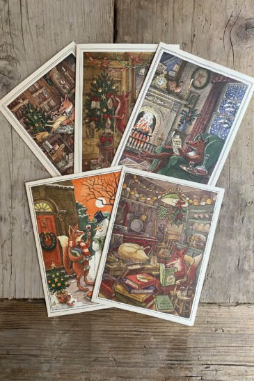 Mixed Pack of Slightly Foxed Christmas Cards - 2020
