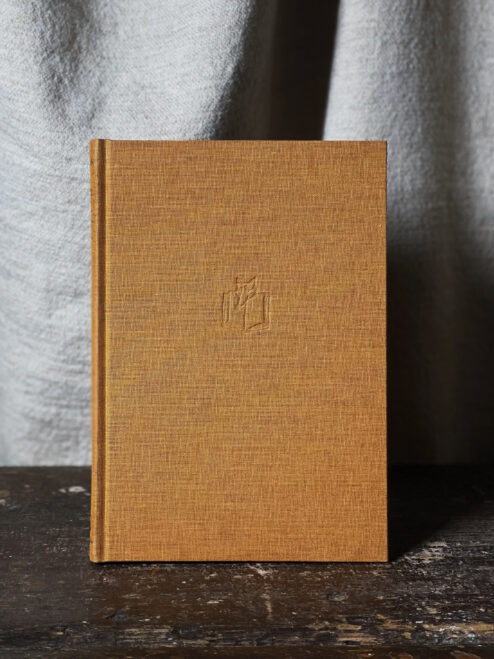 Large Gold Notebook