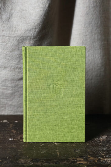 Slightly Foxed Notebook, Lime Green, Small