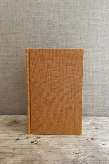 Slightly Foxed Small Gold Notebook - Autumn 2020