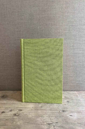 Slightly Foxed Small Lime Green Notebook - Autumn 2020
