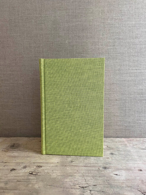 Small Lime Green Notebook