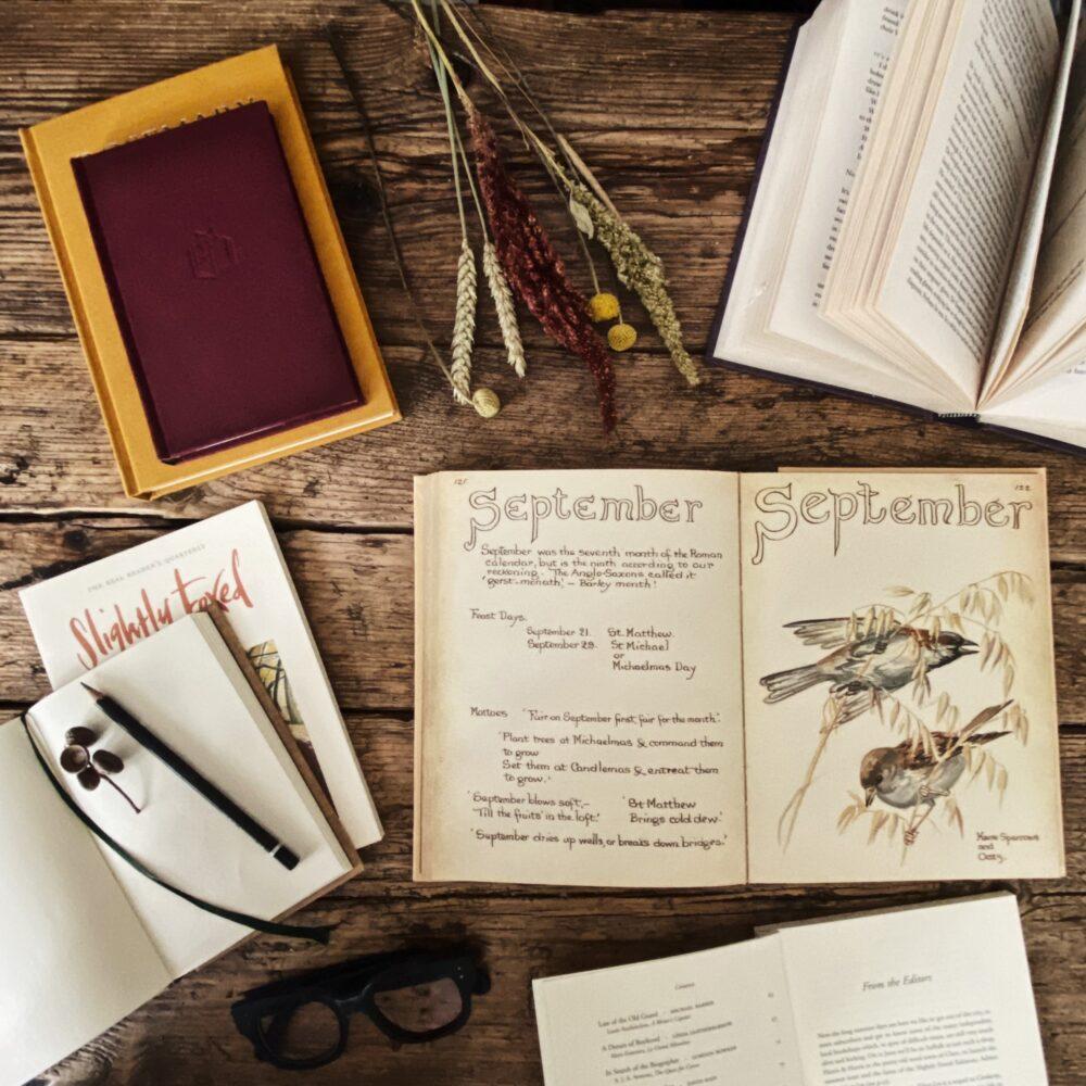 Slightly Foxed Editors' Diary   18 September 2020