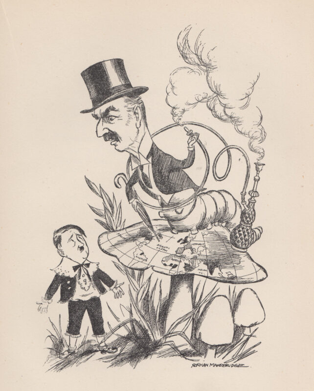 Norman Mansbridge cartoon