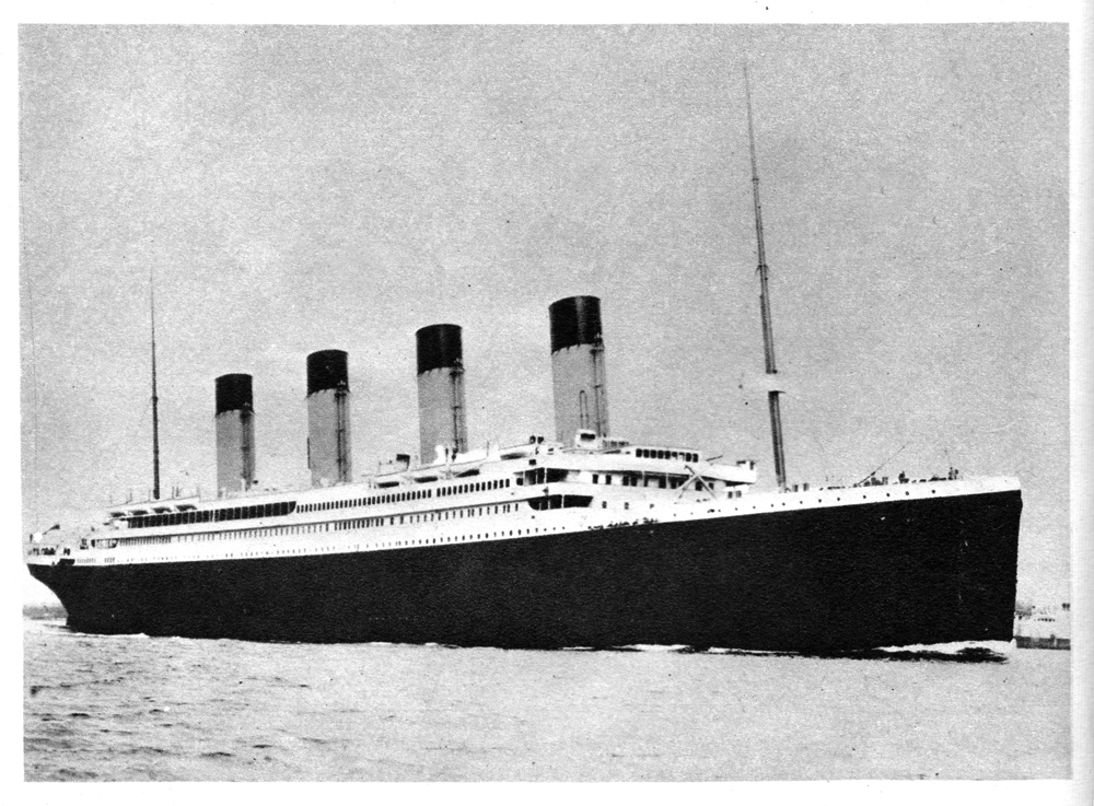 RMS Titanic in Southampton Water, 10 April 1912 - David Fleming on Walter Lord, A Night to Remember