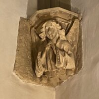 Stone angel, Norman Abbey, Tewkesbury | Slightly Foxed Editors' Diary